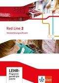 Red Line. Ausgabe ab 2014: 6. Klasse, Vokabelübungssoftware, CD-ROM; Bd.2
