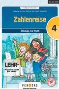 Zahlenreise, 4. Klasse / Mathematik, 1 Übungs-CD-ROM (Neubearbeitung)