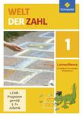 Welt der Zahl, Allgemeine Ausgabe 2015: 1. Schuljahr, 1 CD-ROM; Bd.1