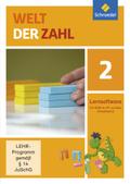 Welt der Zahl, Allgemeine Ausgabe 2015: 2. Schuljahr, 1 CD-ROM; Bd.2
