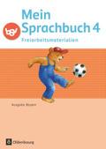 Mein Sprachbuch, Ausgabe Bayern: 4. Jahrgangsstufe, Freiarbeitsmaterialien