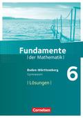 Fundamente der Mathematik, Gymnasium Baden-Württemberg: 6. Schuljahr, Lösungen zum Schülerbuch
