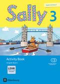 Sally, Englisch ab Klasse 3, Ausgabe Bayern, Neubearbeitung: 3. Jahrgangsstufe, Activity Book mit CD-ROM und Audio-CD