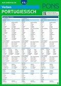 PONS Verben auf einen Blick Portugiesisch