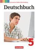 Deutschbuch, Gymnasium Baden-Württemberg, Neubearbeitung: 9. Schuljahr, Schülerbuch; Bd.5