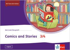 Mein Indianerheft: Mein Anoki-Übungsheft - Comics und Stories