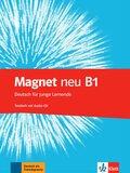 Magnet neu - Deutsch für junge Lernende: Testheft, m. Audio-CD; Bd.B1