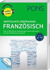 PONS Wortschatz-Hörtraining Französisch, 1 MP3-CD