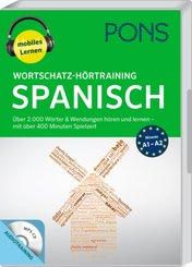 PONS Wortschatz-Hörtraining Spanisch, 1 MP3-CD