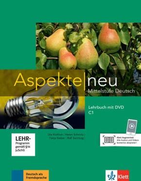 Aspekte neu - Mittelstufe Deutsch: Lehrbuch C1, m. DVD-ROM