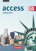 English G Access - Allgemeine Ausgabe: 8. Schuljahr, Wordmaster mit Lösungen; Bd.4