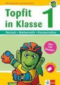Topfit in Klasse 1, Deutsch - Rechnen - Konzentration