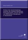 Analyse des Zusammenhangs zwischen der Qualität Öffentlicher Deckungsmassen und der Rendite von Öffentlichen Pfandbriefe