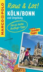 MARCO POLO Raus & Los! Köln, Bonn und Umgebung