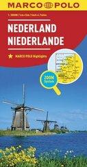 Netherlands Marco Polo Map - Nederland / Netherland / Pays-Bas