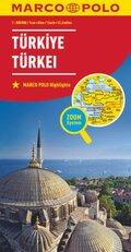 MARCO POLO Karte Länderkarte Türkei 1:800 000; Türkiye / Turkey / Turquie