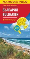 MARCO POLO Karte Länderkarte Bulgarien 1:800 000; Bulgarie / Balgarija / Bulgaria