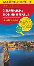 Marco Polo Karte Länderkarte Tschechische Republik 1:300 000; Ceská Republika / Czech Republic / République Tchèque