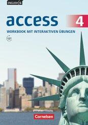 English G Access - Allgemeine Ausgabe: 8. Schuljahr, Workbook mit interaktiven Übungen; 4