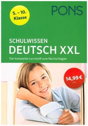 PONS Schulwissen Deutsch XXL