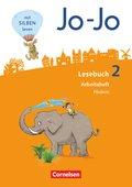 Jo-Jo Lesebuch, Allgemeine Ausgabe, Neubearbeitung (2016): 2. Schuljahr, Arbeitsheft Fördern und Inklusion