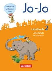 Jo-Jo Lesebuch, Allgemeine Ausgabe, Neubearbeitung (2016): 2. Schuljahr, Arbeitsheft Lesestrategien