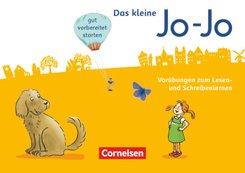 Jo-Jo Fibel, Allgemeine Ausgabe, Neubearbeitung (2016): Vorübungen zum Lesen- und Schreibenlernen