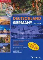 KUNTH Reiseatlas Deutschland / Germany 2017/2018