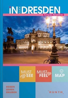 INGUIDE Dresden, m. 1 Karte