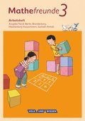 Mathefreunde, Ausgabe Nord 2015: 3. Schuljahr, Arbeitsheft