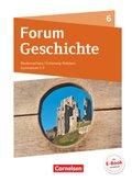 Forum Geschichte, Gymnasium G9 Niedersachsen, Neue Ausgabe: 6. Schuljahr, Schülerbuch