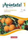 ¡Apúntate! - Nueva edición: Cuaderno de ejercicios mit eingelegtem Förderheft, Ausgabe Gymnasium; Bd.1