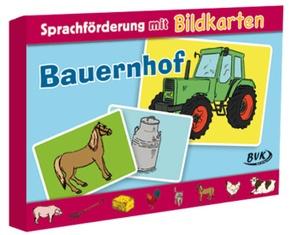 """Sprachförderung mit Bildkarten """"Bauernhof"""""""