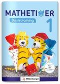 Mathetiger, Neubearbeitung 2016: 1. Schuljahr, Basistraining silbiert; Bd.1