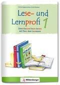 Lese- und Lernprofi - silbierte Ausgabe: Sinnerfassend lesen lernen mit Theo, dem Lesewurm, Klasse 1