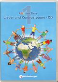 ABC der Tiere, Neubearbeitung 2016: 1. Schuljahr, Lieder und Kontrastpaare, 2 Audio-CDs