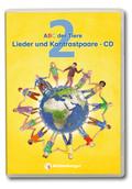 ABC der Tiere, Neubearbeitung 2016: 2. Schuljahr, Lieder und Kontrastpaare, 2 Audio-CDs