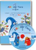 ABC der Tiere, Neubearbeitung 2016: 1. Schuljahr, Lesen- und Schreibenlernen mit Sil und Ben Version 2.1, 1 CD-ROM