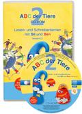 ABC der Tiere, Neubearbeitung 2016: 2. Schuljahr, Lesen- und Schreibenlernen mit Sil und Ben, 1 CD-ROM