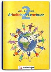ABC der Tiere, Neubearbeitung 2016: 2. Schuljahr, Arbeitsheft Lesebuch
