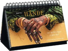 Hände - 365 Berührungen aus aller Welt (immerwährend Tischaufsteller)