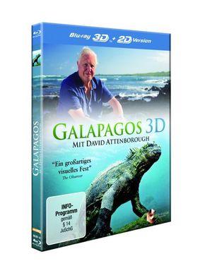 Galapagos 3D, 1 Blu-ray