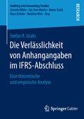 Die Verlässlichkeit von Anhangangaben im IFRS-Abschluss