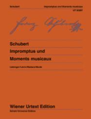 Impromptus und Moments musicaux, Klavier