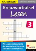 Kreuzworträtsel Lesen - Bd.3