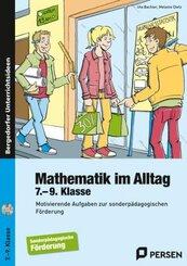 Mathematik im Alltag - 7.-9. Klasse SoPäd, m. 1 CD-ROM