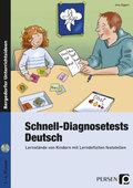 Schnell-Diagnosetests: Deutsch, m. CD-ROM