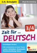 Zeit für Deutsch, 3./4. Schuljahr