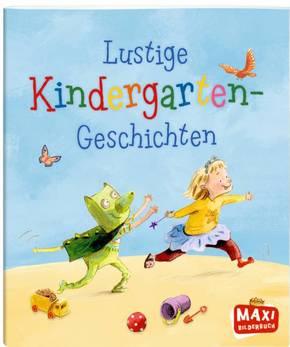 Lustige Kindergarten-Geschichten - Maxi Bilderbuch