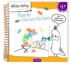 Krickel-Krakel Bunte Fingerfarben
